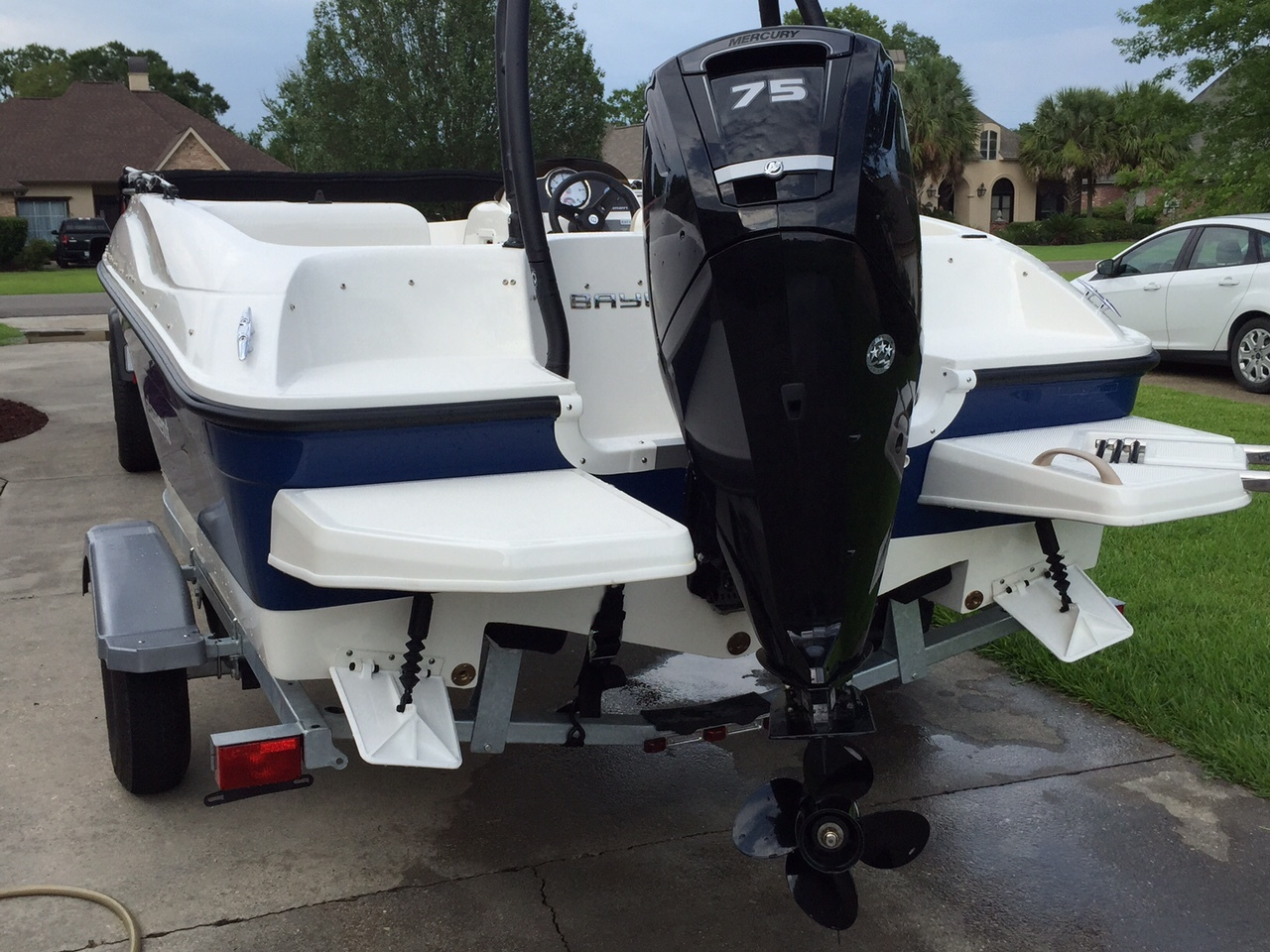 Element - Water in sponsons? Help! - BAYLINER OWNERS CLUB