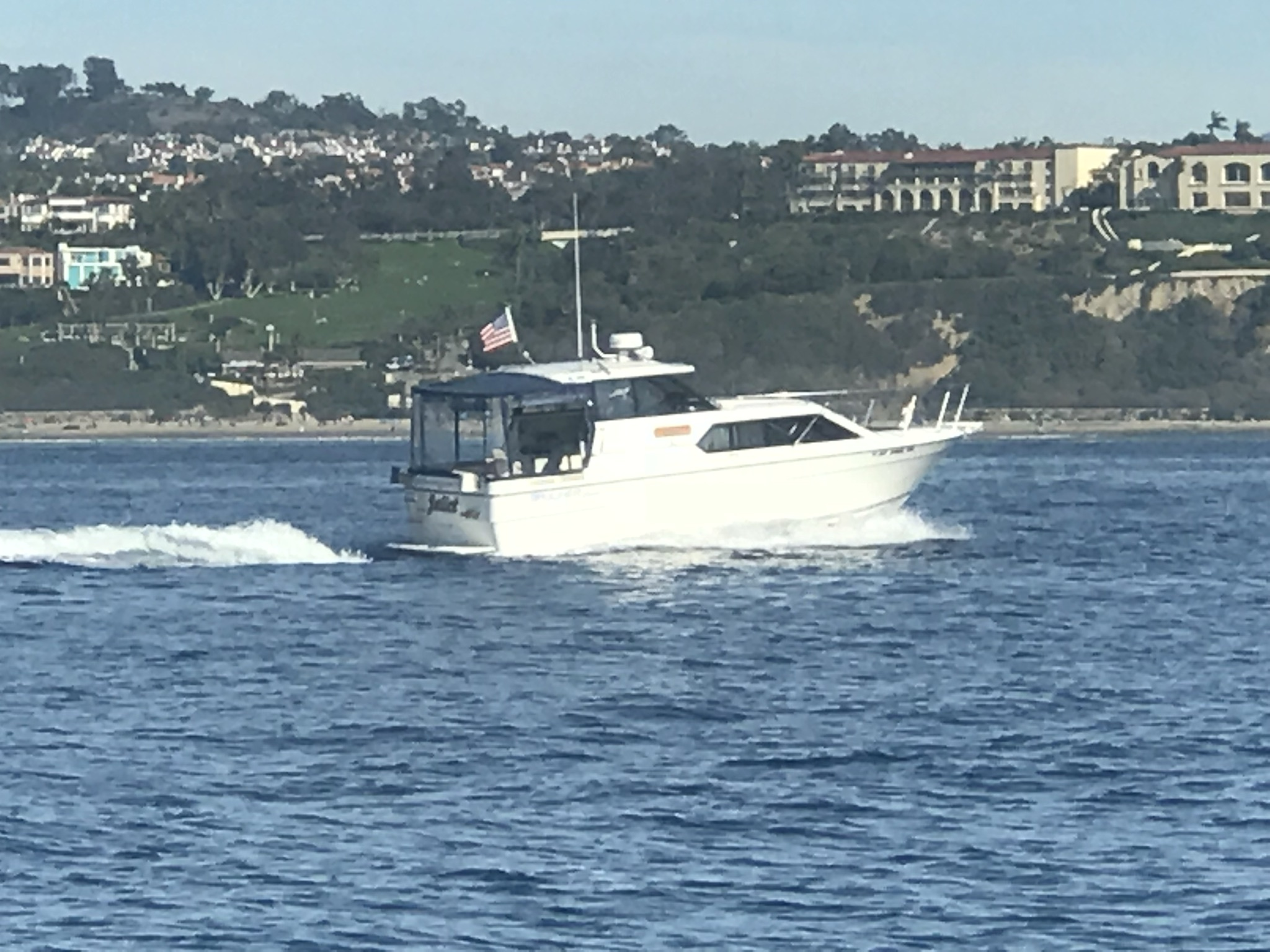 Juliet, our 2859, in action off the Southern California Coast!