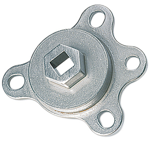 crank pulley tool, with this you don't have to worry about breaking the crank bolt.